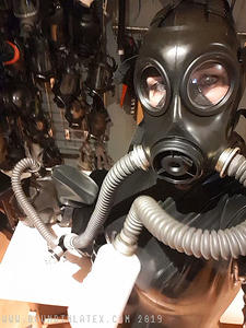 Dec 2019: Gas mask every day for Locktober
